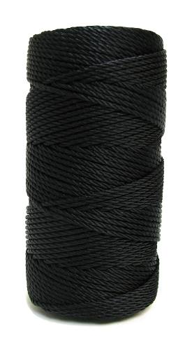Twilight Black #36 Knotted Rosary Cord Twine