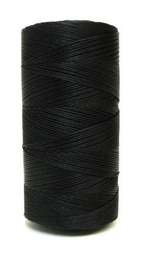 Twilight Black #9 Beaded Rosary Cord Twine
