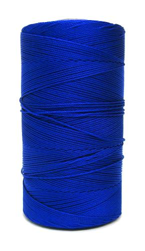 Marian Royal Blue #9 Beaded Rosary Cord Twine