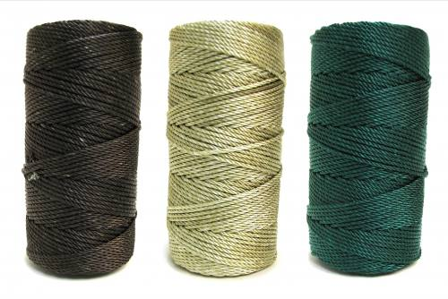 Earthtones #36 Knotted Rosary Cord Twine Bundle