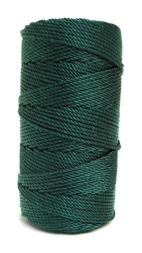 Opulent Green #36 Knotted Rosary Cord Twine