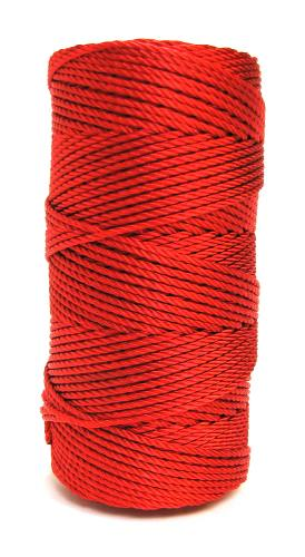 Resplendent Red #36 Knotted Rosary Cord Twine