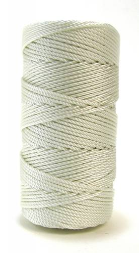 Pearl White #36 Knotted Rosary Cord Twine